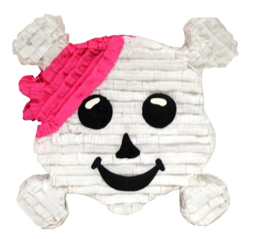 Aztec Imports Pink Pirate Crossbones Pinata by Aztec Imports, Inc.