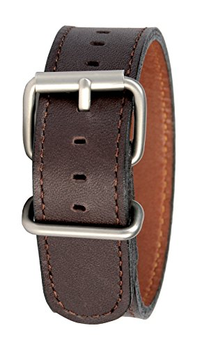 Bertucci B-177M Montanaro Duration Leather Briar 22mm Watch Band ()