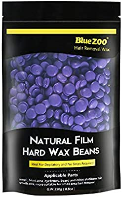 Amazon Com Bluezoo Lavender Stripless Professional Hot Film Hair