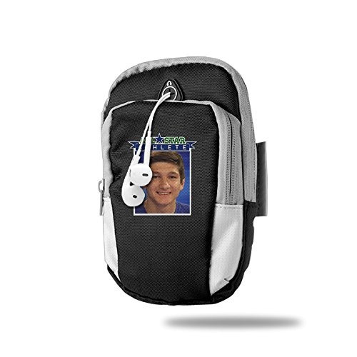 F1&Cany #3 Grayson Allen Outdoor Sport Armband Jogging & Exercise Cycle Arms Package Armband Cell Phone Bag Key Holder For Iphone 6 /6s/iPhone 7/7Plus