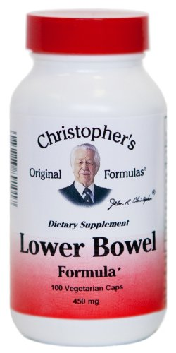 Lower Bowel Formula Dr  Christopher 100 Vcaps