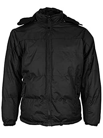 vkwear Men's Heavyweight Insulated Lined Winter Jacket