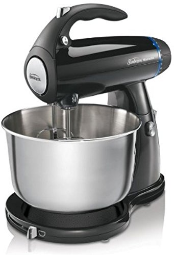 Sunbeam 2594 350-Watt MixMaster Stand Mixer With Dough Hooks And Beaters, Black ;#by:lynssweetdeals