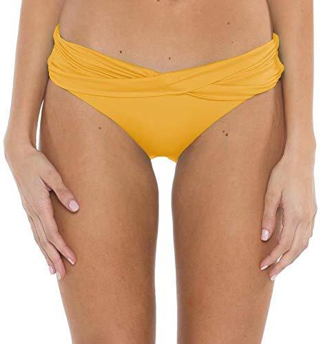 Mossimo Bikini Swimsuit - Mossimo Jenna Bikini Bottoms Womens Sz S Yellow