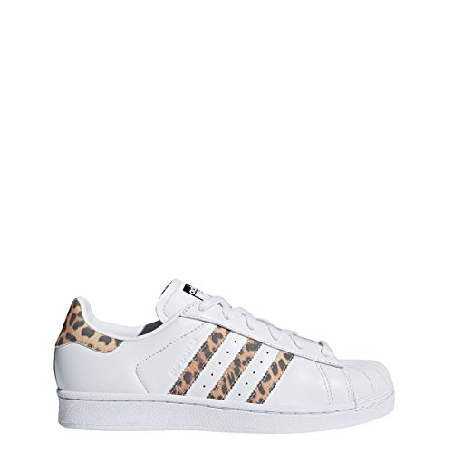 Adidas Women's Superstar W Sneaker, FTWR White, Supplier Colour, Core Black, 7 M US