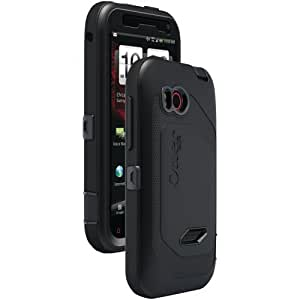 OtterBox Defender Series Case and Holster for HTC Rezound - Black (Discontinued by Manufacturer)