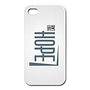 New Arrival Hope Case Skin For Apple IPhone 4 4s Design Your Own Music IPhone 4 4s Case