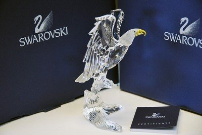 Swarovski 0248003 Bald Eagle Figurine