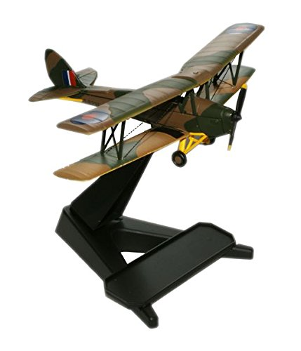 Oxford 1/72 Scale - 72TM001 D.H 82 Tiger Moth T-6296 RAF Hendon B004T12OXW