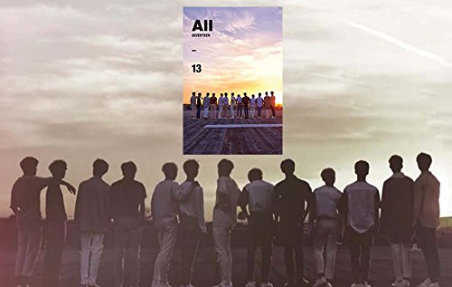 Price comparison product image Al1 4th Seventeen [All 13] Ver.3 Mini Album CD + Poster + Photobook + Photocard + Postcard + Sticker + Gift (4 Photocards Set)