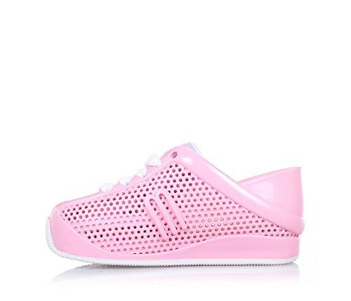 MINI MELISSA - Pink Schuh aus MELFLEX-Plastik, duftendes Gummi, umweltfreundlich, ökologisch, extrem flexibel, Mädchen