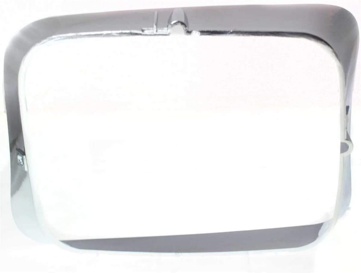 I-Match Auto Parts Passenger Side Headlamp Door Bezel Replacement For 92-93 Dodge Fullsize Pickup and Ramcharger CH2513118 55054644 Chrome