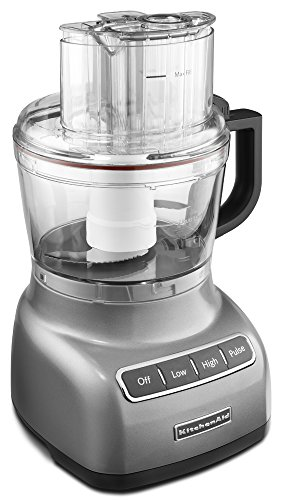 KitchenAid KFP0922CU 9-Cup Food Processor with Exact Slice System - Contour Silver by KitchenAid (Image #1)