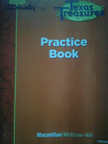 Texas Treasures Grade 3 Practice Book