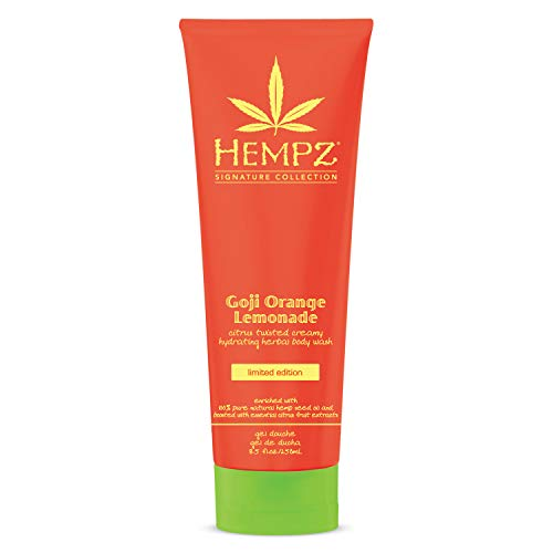- Hempz Goji orange lemonade hydrating herbal body wash, 8.5 Ounce
