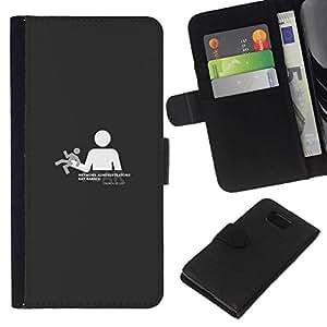 All Phone Most Case / Oferta Especial Cáscara Funda de cuero Monedero Cubierta de proteccion Caso / Wallet Case for Samsung ALPHA G850 // Need freedom no controlled