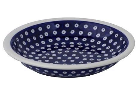 Bunzlauer Keramik tiefer Pastateller Suppenteller Nudelteller Ø22,5 cm Dekor 8