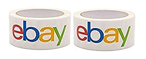 Official eBay Branded BOPP Packaging Tape - Shipping Supplies, 2-Pack