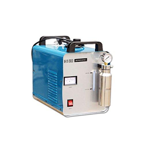 300W Portable Oxygen Hydrogen Flame Generator Acrylic Polishing Machine, 95L 1 Gas Torch free, 110V (Best Electrolyte For Hho Generator)
