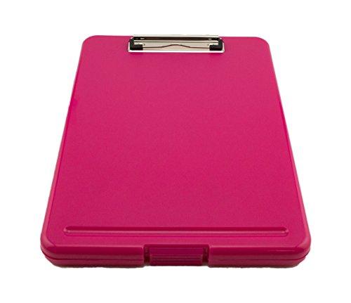 Tytroy Slim Pink Plastic Storage Clipboard Legal Size Clipboard