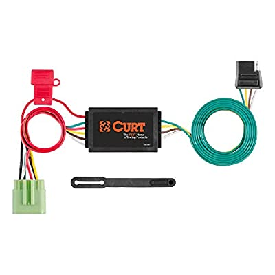 CURT 55369 Vehicle-Side Custom 4-Pin Trailer Wiring Harness for Select Jeep Grand Cherokee: Automotive