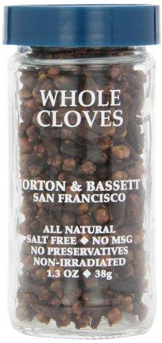 Morton & Basset Spices, Whole Cloves, 1.3 Ounce by Morton & Bassett