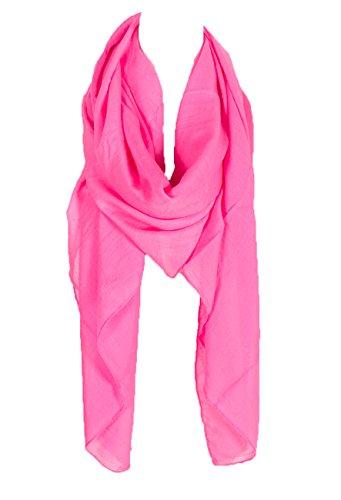 Plain Large Scarf, Can also by styled as a Sarong, Wrap or Shawl, summer scar, beach shawl, beach scarf wrap, beach top (Hot -