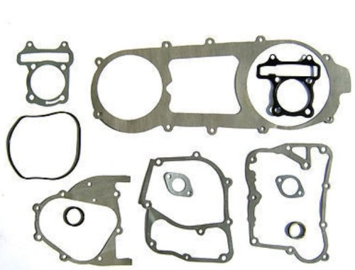 SHORT CASE NEW GASKET SET GY6 150cc MOPED SCOOTER LANCE ZNEN BMS TNG JONWAY TANK ICE BEAR