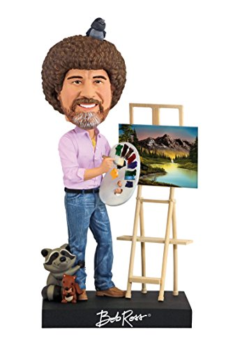 Royal Bobbles Bob Ross Bobblehead