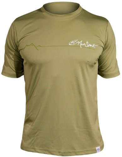 Guard Neosport Rash - NeoSport Men's Short Sleeve Watershirt (Small, Olive) - Water Sports, Diving & Snorkeling