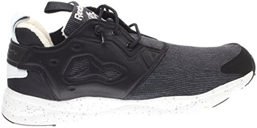 Reebok Dames Furylite Wintermode Sneaker Zwart / Grind / Staal / Wit