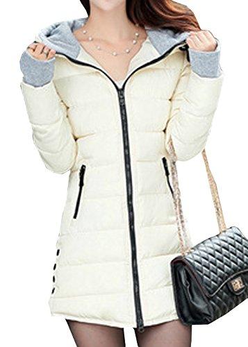 SWORLD Warmest Winter Coats For Women Candy Colors Down Coat With Hood (Coat Warmest Winter)