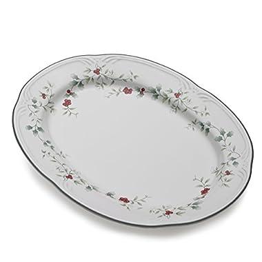 Pfaltzgraff Winterberry Stoneware Serving Platter (14-Inch)