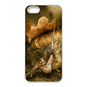 Diy Fairy Fantasy Custom Cover Phone Case for iphone 5s White Shell Phone [Pattern-2]