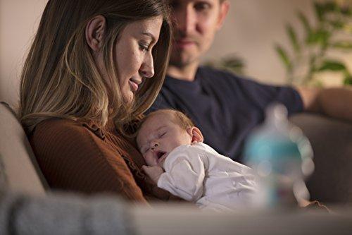 41lR9scH5ML - Tommee Tippee Advanced Anti-Colic Baby Bottle, Heat Sensing Technology, Breast-Like Nipple, BPA-Free, 9 Ounce, 2 Count