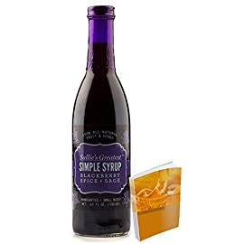 Sallie's Greatest Fruit Simple Syrup All Natural and Gluten Free and perfect for holiday gatherings   Handcrafted in small batches 48 All Natural Gluten Free Simple Fruit Syrups Our Syrups are not just for breakfast but also as appetizers and salads to grilled meats, panini sandwiches, deserts, and drinks! Sallie's syrups are the local farmers, the fruits of their labor, the grace of her herbs, and the sustainability of southern life.