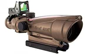 Trijicon ACOG Rifle Scope 3.5X 35 Red Horseshoe .308 Desert Tan RMR05G TA11-D-100251