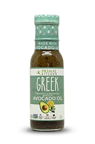 Primal Kitchen - Greek, Avocado Oil-Based Dressing and Marinade, Whole30 and Paleo Approved (8 oz)
