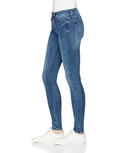 071 Skinny Bleu G Aged RAW STAR Femme Jeans Medium 6qwxAE8zHx