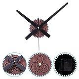 Reloj de cuarzo con mecanismo de movimiento de reloj, sin ruido, con manecillas de reloj, reloj de pared, piezas de reparación