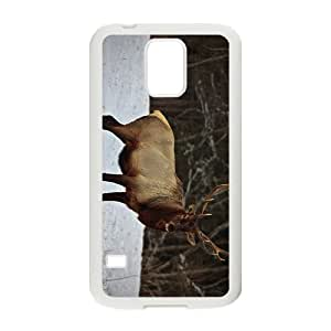 The Deer Hight Quality Plastic Case for Samsung Galaxy S5