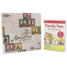 Genealogy Software / Genealogy Game Bundle Kit – Individual Software Family Tree Heritage Platinum 9 and Calliope Games Ancestree Board Game