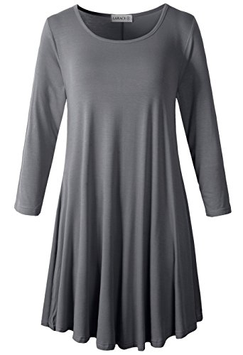 3/4 sleeve dress shirt - 1