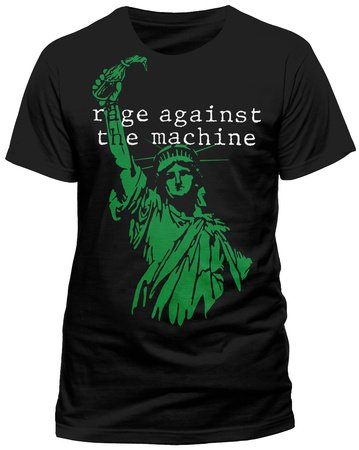 Rage Against The Machine Black Liberty T-Shirt schwarz XXL