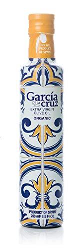 García de la Cruz – Organic Extra Virgin Olive Oil – Premium Master Miller – 3L Tin