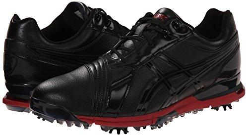 Asics Men S Gel Ace Pro Fg Golf Shoe Black Black Red 11