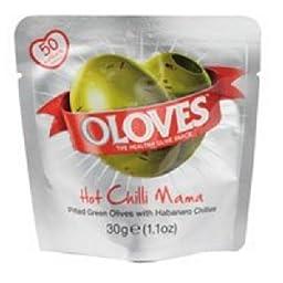 Milas Oloves Hot Chilli Mama -- 1.1 oz