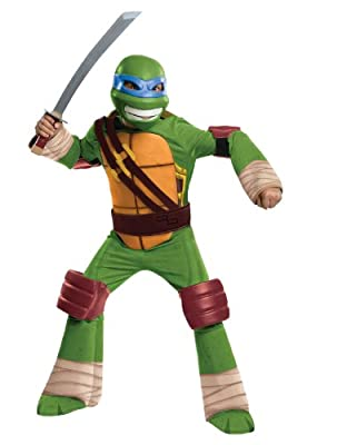 Teenage Mutant Ninja Turtles Deluxe Leonardo Costume