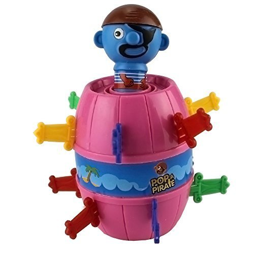 Review Of Funny Lucky Stab Pop Up Gadget Pirate Barrel Kid Children Game Toy