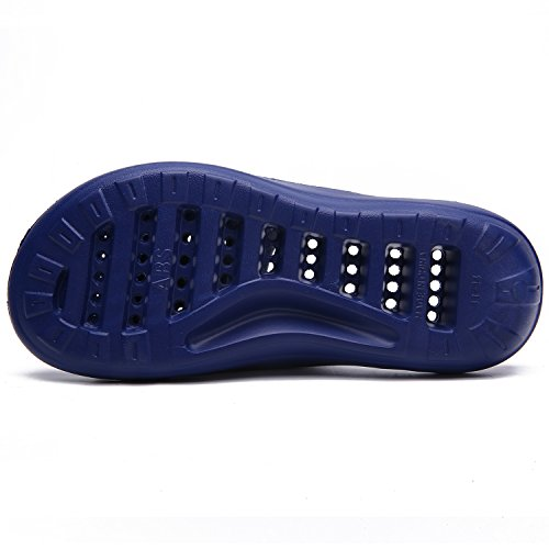 Slipper Non Silk Shower Sandal Bathroom Men's Indoor Slippers Shoes Quick Home Women's Blue Drying for L Slip Fashion vdqpwx8Ip